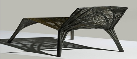 Designer Furniture Based on Use of Carbon Fiber
