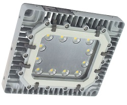 Larson Electronics - New Explosion Proof High Bay Food Safe LED Light Fixture