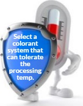 Check the Thermal Stability of the Colorant System