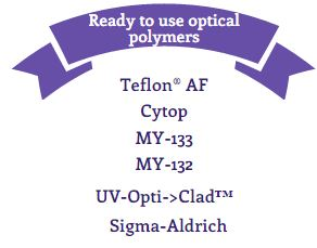 Ready-to-use Optical Polymers