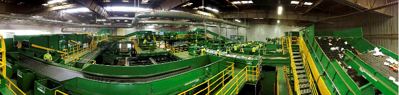 GreenWaste Mechanical Recycling Material Recovery Facility (MRF)