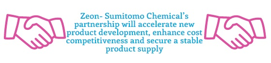 Zeon, Sumitomo Chemical Consider S-SBR Businesses Merger