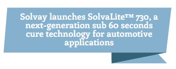 Solvay Launches SolvaLite™ 730
