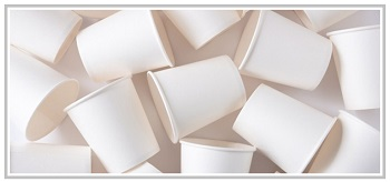 Cut Coffee Cup Waste