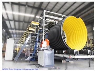 New Technology and Equipment for Steel-reinforced Corrugated Pipe
