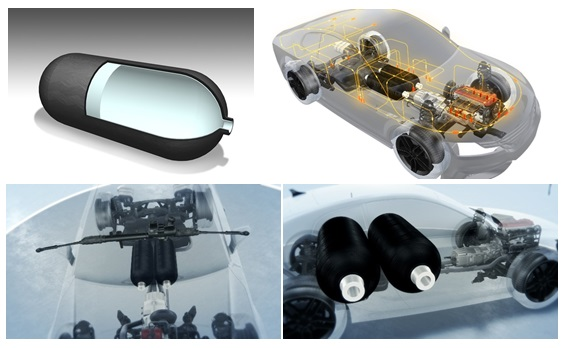 High-pressure Composite Tanks for Hydrogen Storage