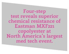 Eastman MX221 Superior Chemical Resistance
