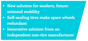 Rubber for Future-oriented Mobility