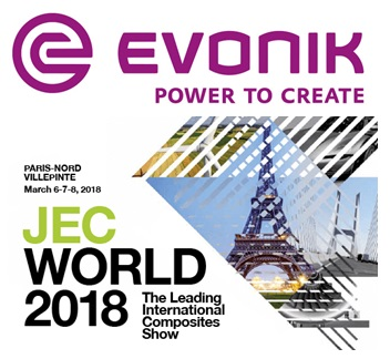 Evonik at JEC World 2018