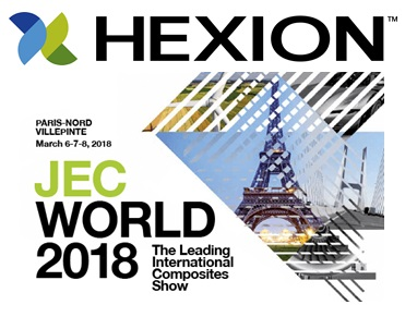 Hexion at JEC World 2018