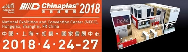 PolyOne's Breakthrough Polymer Solutions at CHINAPLAS 2018