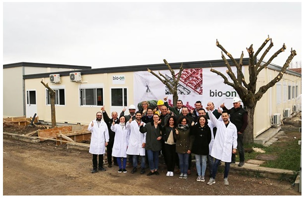 Bio-on's New Research Hub
