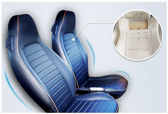 Elastoflex® Memory Foam Embedded Bus Seat brings a Superior Level of Comfort to Passengers