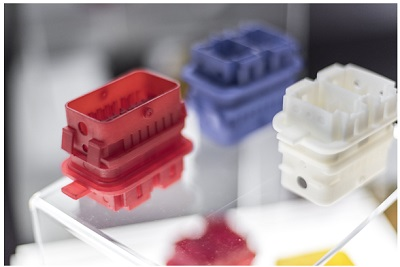 Photo-Resin X004M is Suitable for Break-resistant Parts, for Example Post-colored Electric Circuit Connectors