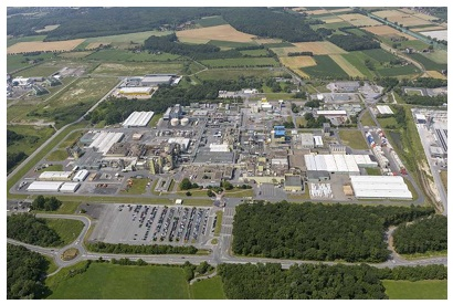 DuPont Site in Uentrop (Hamm, Germany)