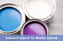 Switching from Solventborne to Waterborne Coatings in Industrial Applications