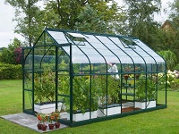 PMMA Sheets Used to Build Green Houses