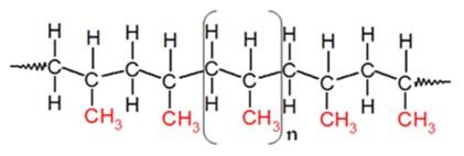 التركيب الجزيئي للبولي بروبيلين