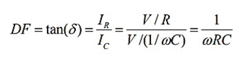 Dissipation Factor Formula