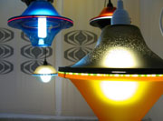 Multicoloured Sculptural Lighting